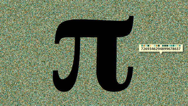 Pi visualized to 4 million digits